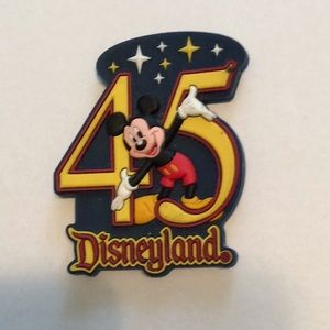 Disneyland 45th Anniversary Rubber Retired Magnet